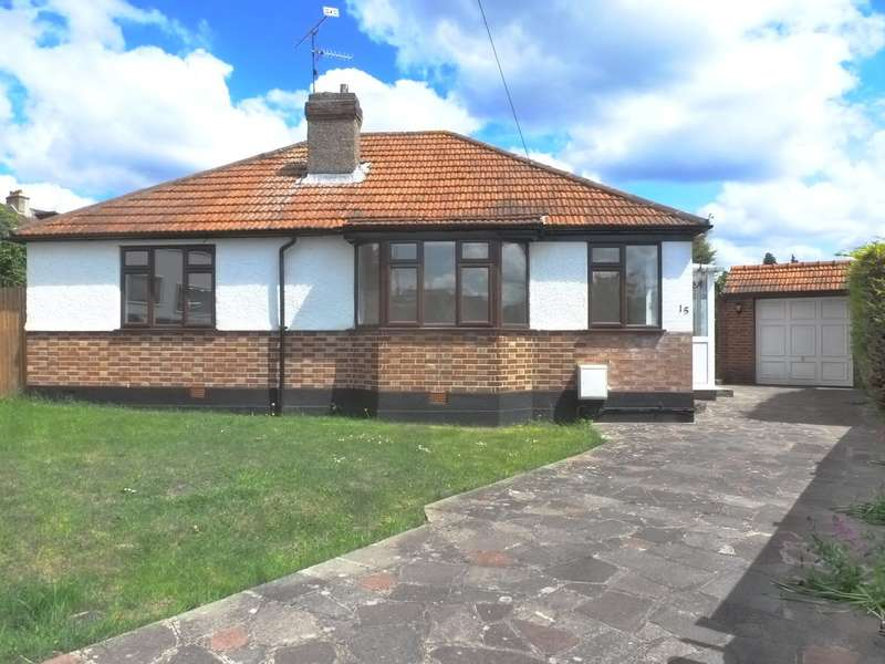2 Bedrooms Detached Bungalow for sale in Langley Road, South Croydon, Surrey, CR2 8ND
