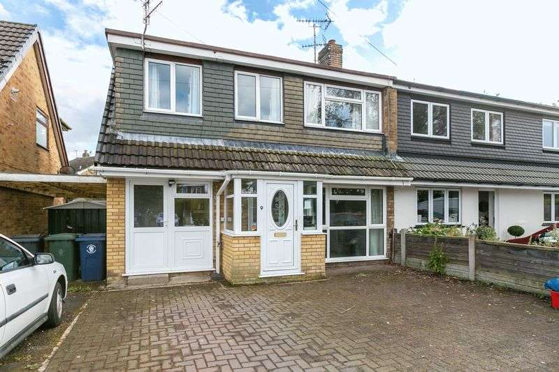4 Bedrooms Semi Detached House for sale in Southdene, Parbold, WN8 7PQ