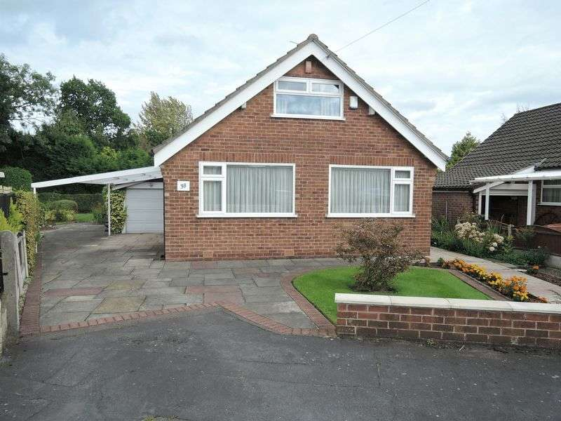 3 Bedrooms Detached Bungalow for sale in Greenway Road, Heald Green