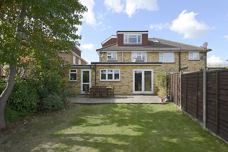 4 Bedrooms Semi Detached House for sale in Sunna Gardens, Sunbury-on-Thames, Surrey, TW16