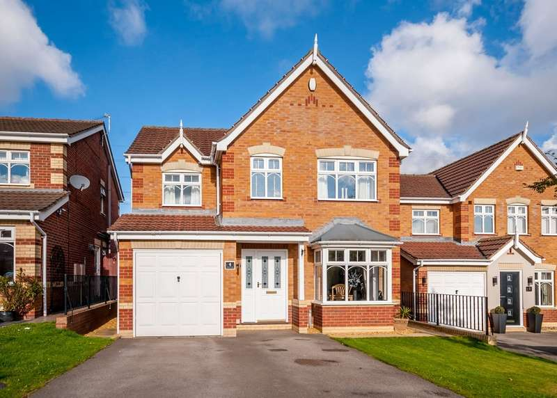 4 Bedrooms Detached House for sale in Dickens Close, Catcliffe, Rotherham
