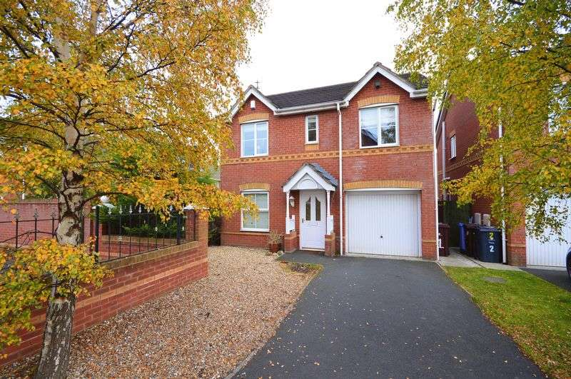 4 Bedrooms Detached House for sale in Heydon Close, Halewood