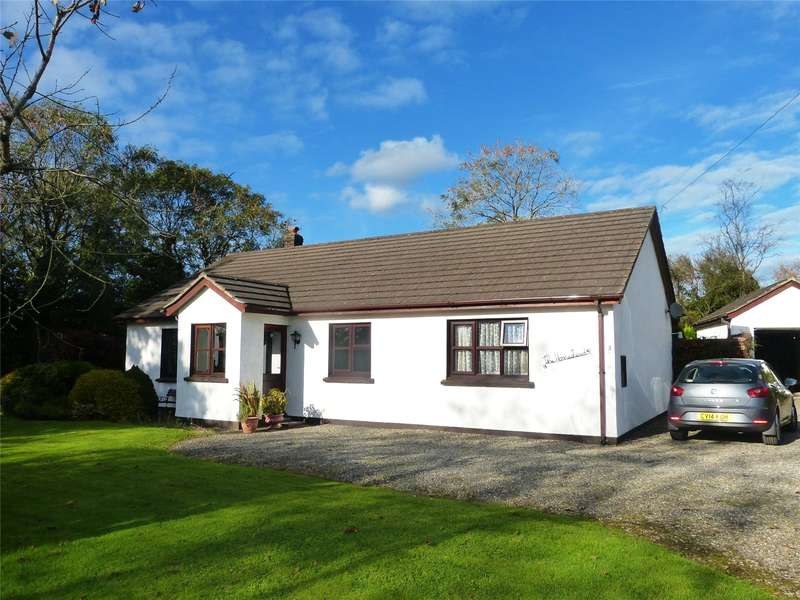 3 Bedrooms Detached Bungalow for sale in Thornberry Gardens, Ludchurch, Narberth