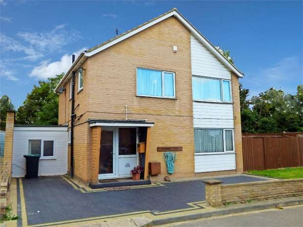 4 Bedrooms Detached House for sale in Vicarage Drive, Northfleet, Gravesend, Kent