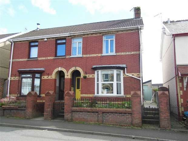 3 Bedrooms Semi Detached House for sale in Bryn Road, Tondu, Bridgend, Mid Glamorgan