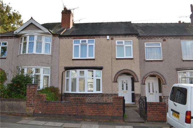 3 Bedrooms Terraced House for sale in Lavender Avenue, Coundon, Coventry, West Midlands