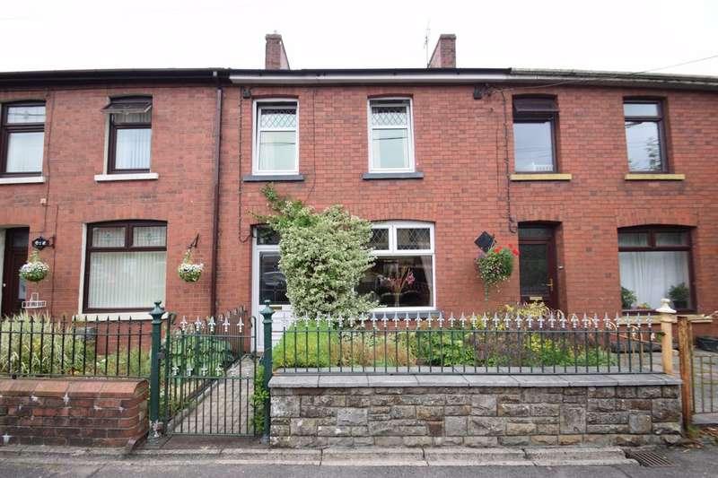 3 Bedrooms Terraced House for sale in 3 Abergarw Road, Brynmenyn, Bridgend, Bridgend County Borough, CF32 9LF.