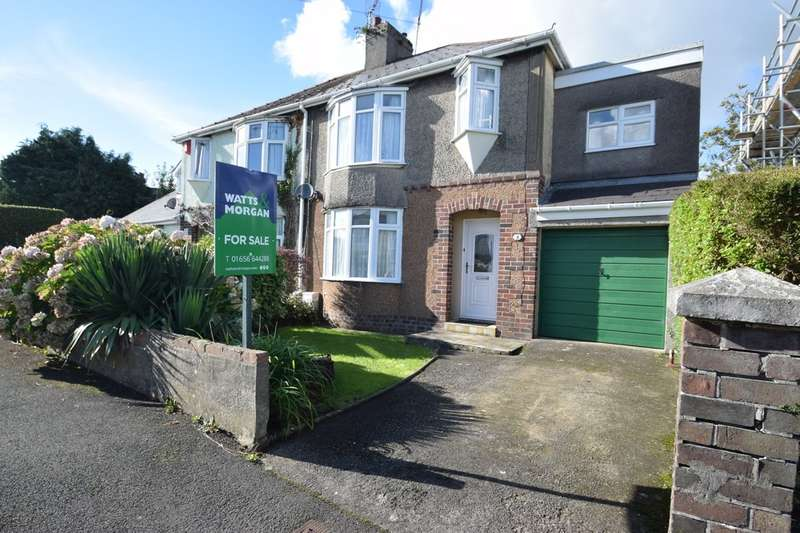 4 Bedrooms Semi Detached House for sale in 3 Priory Road, Bridgend, Bridgend County Borough, CF31 3LA.