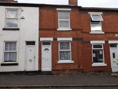 2 Bedrooms Terraced House for sale in Ewart Road, Forest Fields, Nottingham, Nottinghamshire