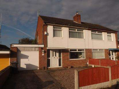 3 Bedrooms Semi Detached House for sale in Cliftonville Road, Woolston, Warrington, Cheshire