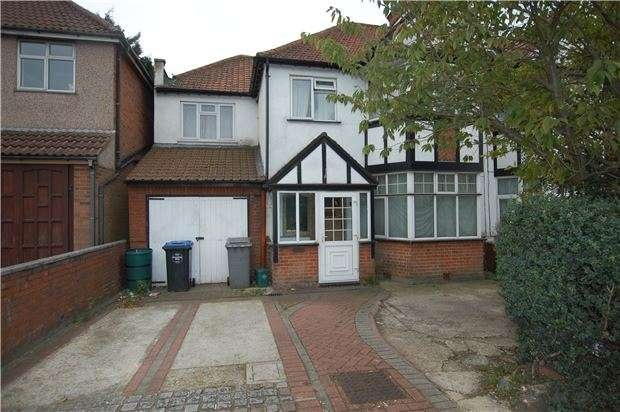 5 Bedrooms Semi Detached House for sale in Kingsbury Road, LONDON, NW9 9PE