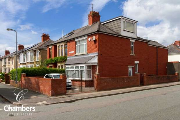 4 Bedrooms Semi Detached House for sale in Foreland Road, Whitchurch, Cardiff, CF14