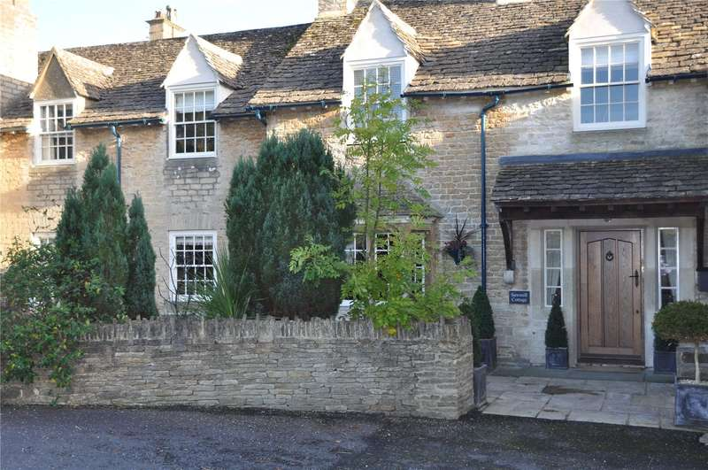 4 Bedrooms Terraced House for sale in Westonbirt, Tetbury, Gloucestershire, GL8