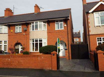 3 Bedrooms Semi Detached House for sale in Saxon Street, Wrexham, Wrecsam, LL13