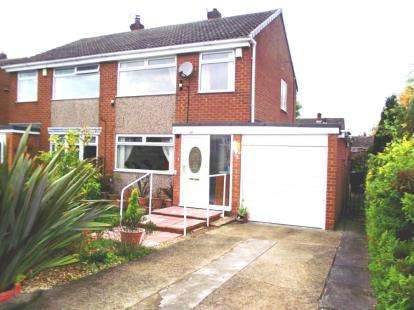 3 Bedrooms Semi Detached House for sale in Beeches Rise, Marton-in-Cleveland, Middlesbrough, North Yorkshire