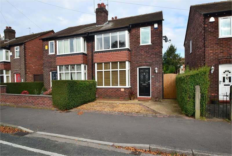 2 Bedrooms Semi Detached House for sale in Ripley Avenue, Great Moor, Stockport SK2 7DH