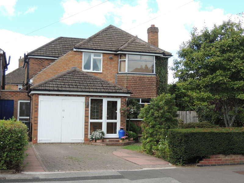 4 Bedrooms Detached House for sale in Milton Road, Bentley Heath