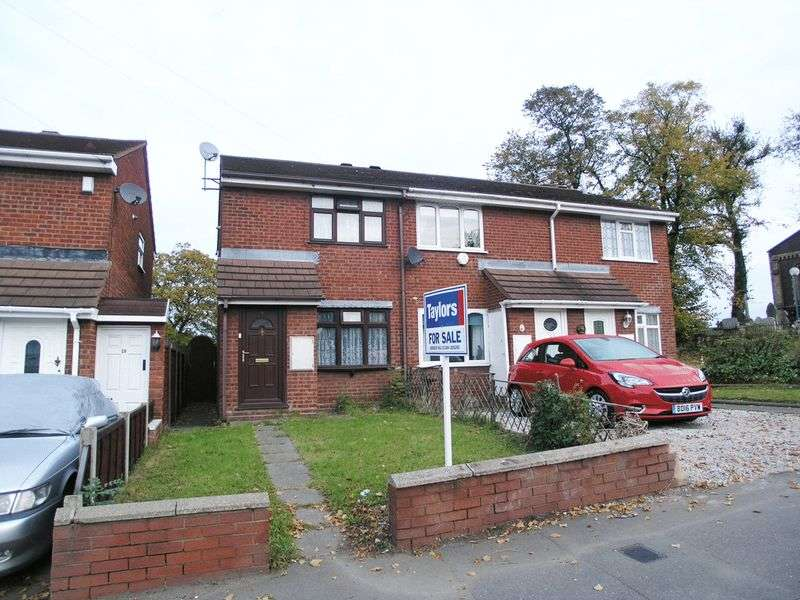 2 Bedrooms Terraced House for sale in BRIERLEY HILL, Brockmoor, Leys Road