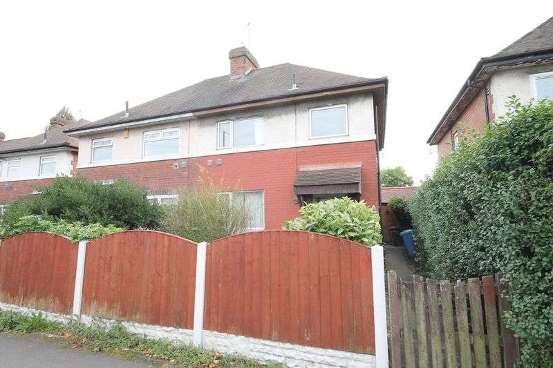 3 Bedrooms Semi Detached House for sale in Harvey Road, Derby