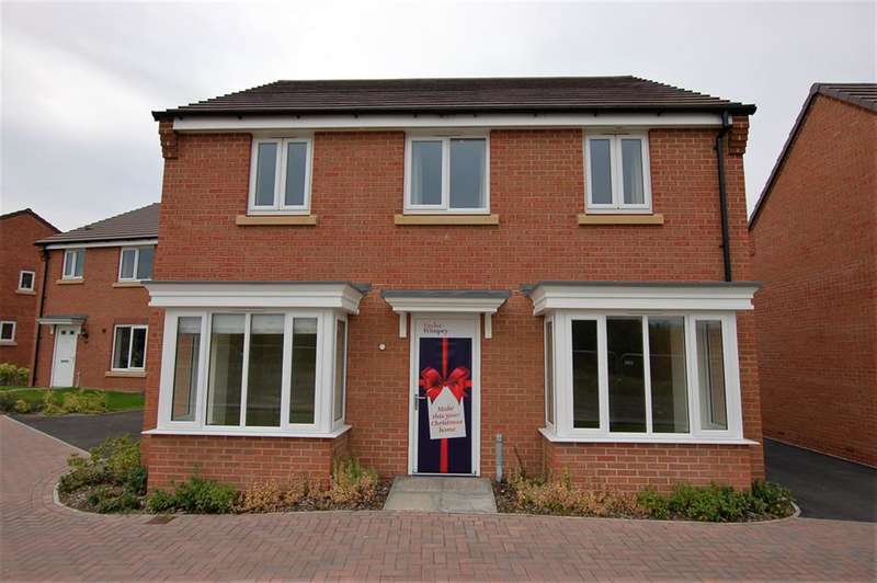 4 Bedrooms Detached House for sale in Plot 276 The Ashwell, Himley View, Kingswinford, DY6 7LS