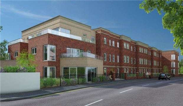 1 Bedroom Flat for sale in Stroudwater Court, 1 Cainscross Road, Stroud, Glos, GL5 4ET