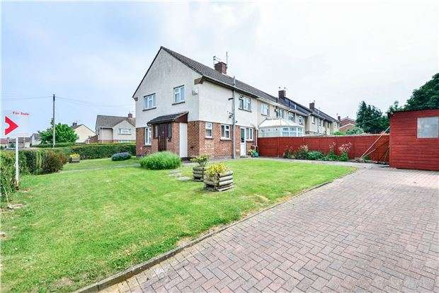 3 Bedrooms End Of Terrace House for sale in Coronation Avenue, Keynsham, Bristol, BS31 2QG