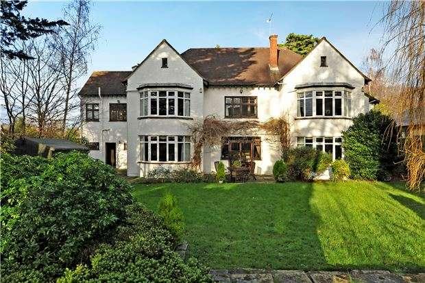 5 Bedrooms Detached House for sale in Stoke Hill, Sneyd Park, Bristol, BS9 1JL