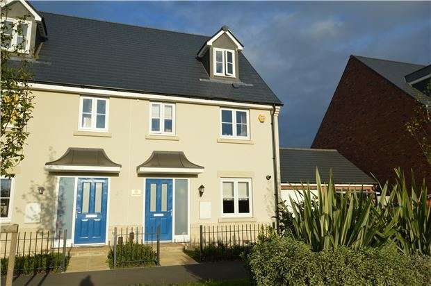4 Bedrooms Semi Detached House for sale in Sunrise Avenue, Bishops Cleeve, Cheltenham, Glos, GL52 8EP