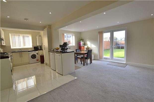 2 Bedrooms Semi Detached Bungalow for sale in Lea Road, Brockworth, GLOUCESTER, GL3 4JD