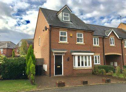 3 Bedrooms End Of Terrace House for sale in Atlanta Gardens, Chapelford Village, Warrington, Cheshire
