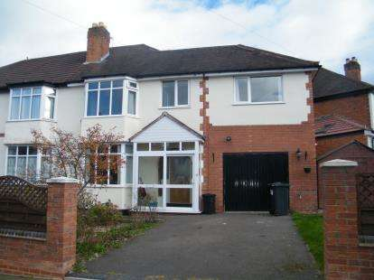 4 Bedrooms Semi Detached House for sale in Bradstock Road, Birmingham, West Midlands