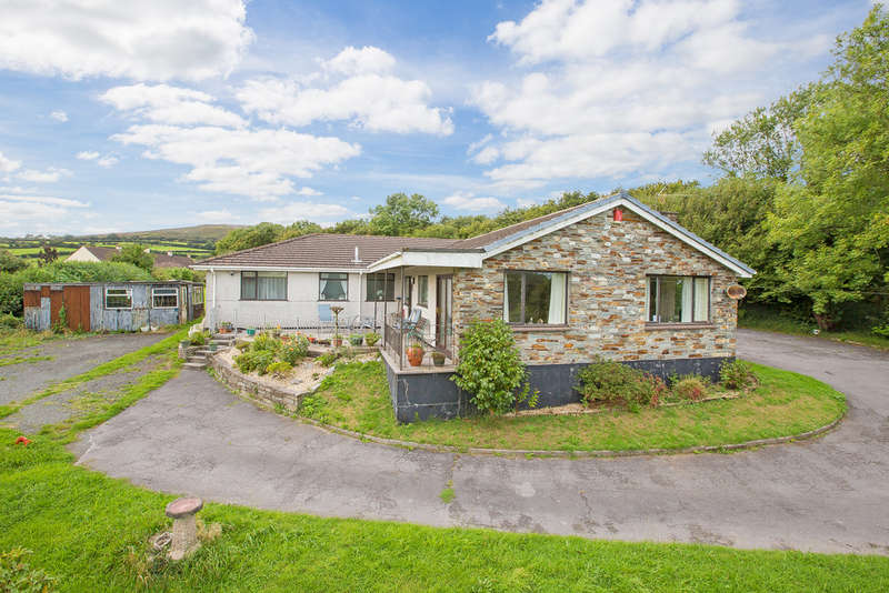 5 Bedrooms Detached Bungalow for sale in Bittaford, Devon
