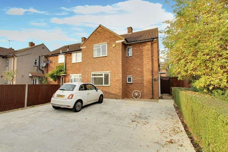 3 Bedrooms Semi Detached House for sale in Sussex Crescent, Northolt
