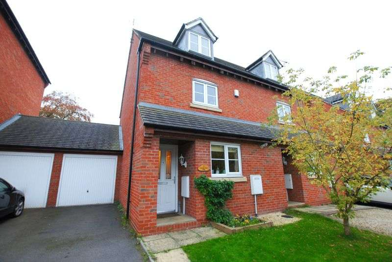 3 Bedrooms Semi Detached House for sale in Bowling Green Road, Uttoxeter