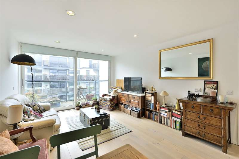 2 Bedrooms Flat for sale in Reliance Wharf, Hertford Road, London, N1