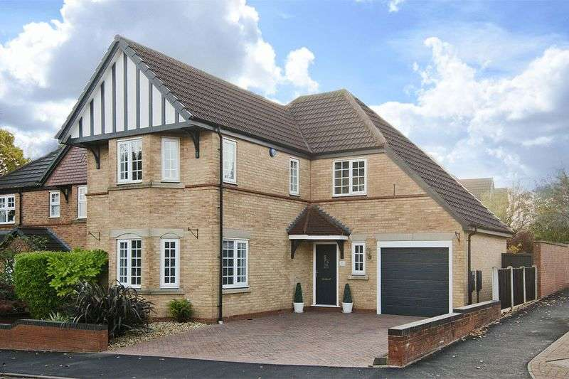 4 Bedrooms Detached House for sale in Sweetbriar Way, Heath Hayes, Cannock
