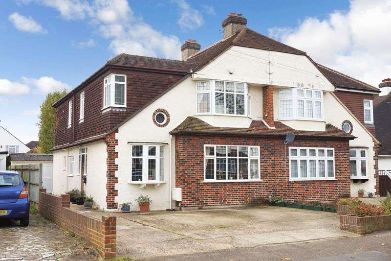4 Bedrooms Semi Detached House for sale in Worcester Park