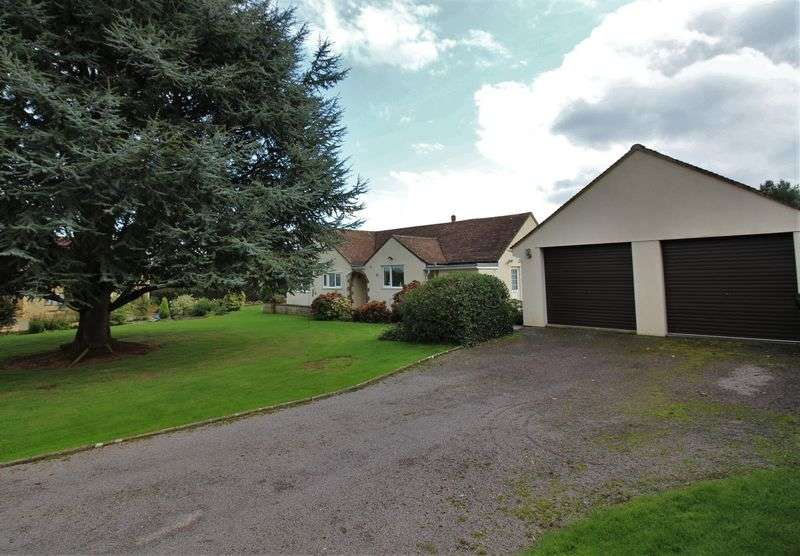 3 Bedrooms Detached Bungalow for sale in Upton Lane, Seavington, Nr Ilminster