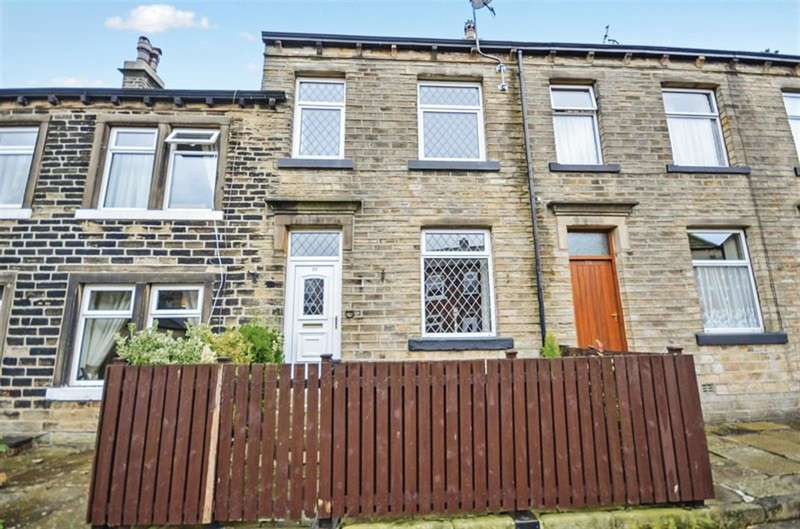 3 Bedrooms Terraced House for sale in Town End, Golcar, Huddersfield, HD7 4QA