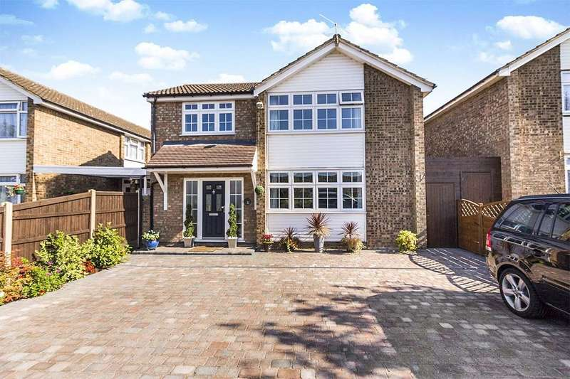 4 Bedrooms Detached House for sale in Nuthatch, Longfield, DA3