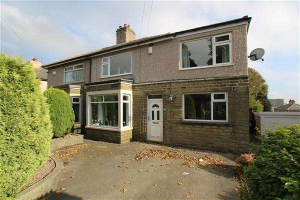 4 Bedrooms Semi Detached House for sale in Court Lane, Highroad Well, Halifax