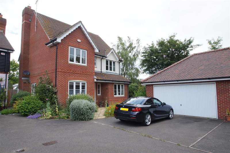 4 Bedrooms Detached House for sale in Coopers Crescent, West Bergholt, Colchester