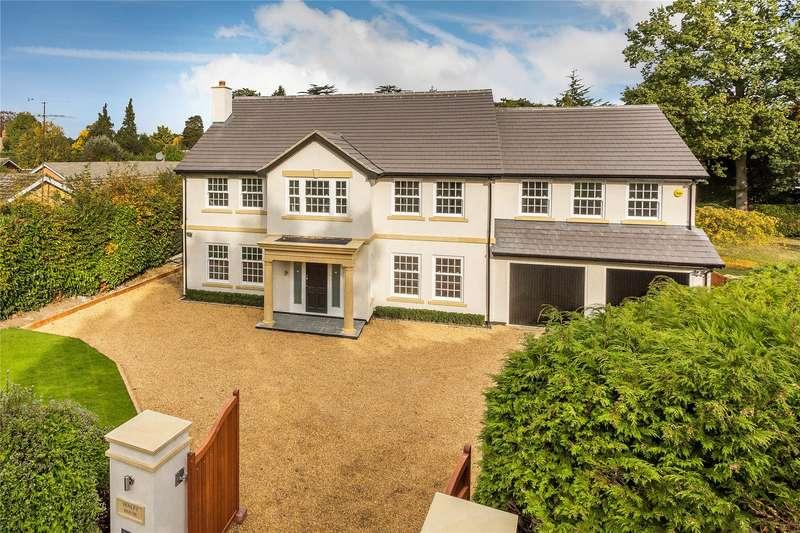 5 Bedrooms Detached House for sale in Heathfield Close, Woking, Surrey, GU22