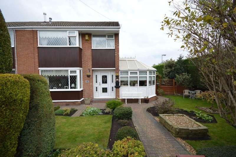 3 Bedrooms Semi Detached House for sale in Greatfield Drive, Ossett