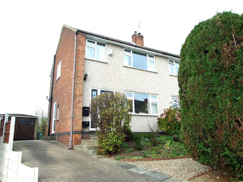 2 Bedrooms Semi Detached House for sale in Thomson Drive, Codnor, Ripley, Derbyshire, DE5