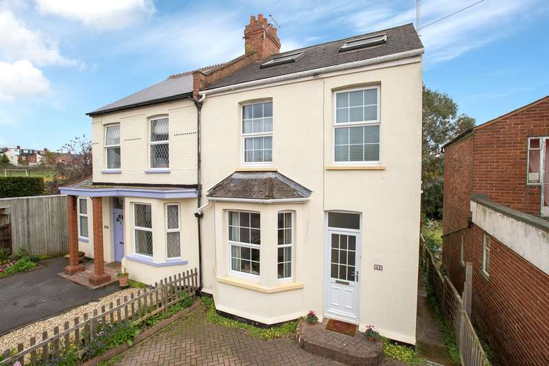 4 Bedrooms Semi Detached House for sale in Heavitree, Exeter