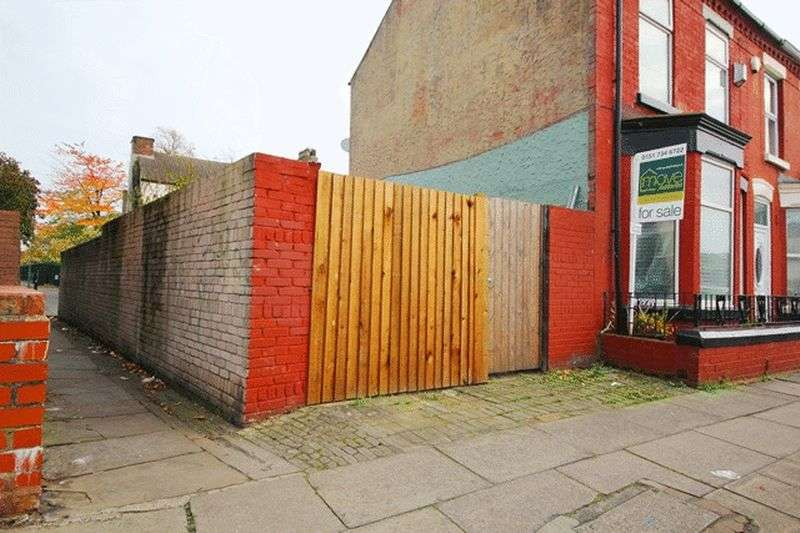 Land Commercial for sale in Thornycroft Road, Wavertree, Liverpool, L15