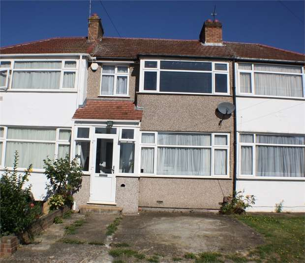 3 Bedrooms Terraced House for sale in Raeburn Road, EDGWARE, Middlesex