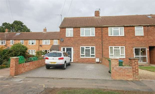 3 Bedrooms End Of Terrace House for sale in Narbeth Drive, Aylesbury, Buckinghamshire