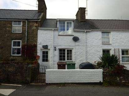 2 Bedrooms Terraced House for sale in Liverpool Terrace, Llithfaen, Pwllheli, Gwynedd, LL53